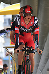 Tejay Van Garderen (USA) BMC Racing Team ready to start the Prologue of the 99th edition of the Tour de France 2012, a 6.4km individual time trial starting in Parc d'Avroy, Liege, Belgium. 30th June 2012.<br /> (Photo by Eoin Clarke/NEWSFILE)