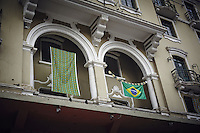 The streets of Sao Paulo during the World Cup