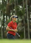 SINGAPORE - MARCH 07:  Angela Standford of the USA walks on the par five 15th hole during the third round of HSBC Women's Champions at the Tanah Merah Country Club on March 7, 2009 in Singapore. Photo by Victor Fraile / The Power of Sport Images
