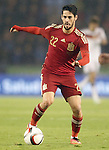 Spain's Isco during international friendly match.November 18,2014. (ALTERPHOTOS/Acero)