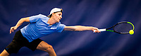 Amstelveen, Netherlands, 17  December, 2020, National Tennis Center, NTC, NK Indoor, National  Indoor Tennis Championships,   : J Gijs Brouwer (NED) <br /> Photo: Henk Koster/tennisimages.com