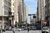 Campinas (SP), 27/02/2021 - Plano-SP - Movimentação no centro de Campinas, interior de São Paulo, neste sábado (27). A região de Campinas regrediu novamente para a fase laranja do Plano São Paulo de flexibilização da quarentena de combate ao coronavirus. As novas regras passam a valer a partir da próxima segunda-feira (1º).