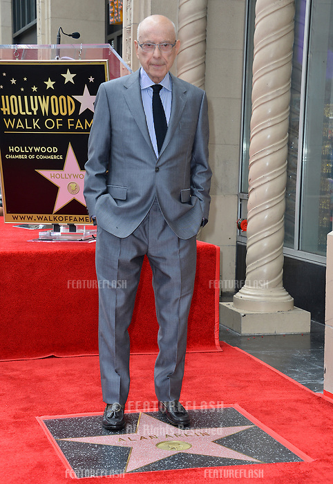 LOS ANGELES, CA. June 07, 2019: Alan Arkin at the Hollywood Walk of Fame Star Ceremony honoring Alan Arkin.<br /> Pictures: Paul Smith/Featureflash