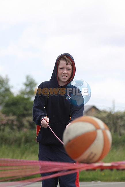 Scoil Ui Mhuiri Sports Day..Padraig Hawkins.Photo: Fran Caffrey/www.newsfile.ie...