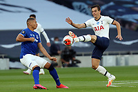 Richarlison of Everton and Giovani Lo Celso of Tottenham Hotspur during Tottenham Hotspur vs Everton, Premier League Football at Tottenham Hotspur Stadium on 6th July 2020