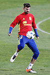 Spain's Gerard Pique during training session. March 21,2016. (ALTERPHOTOS/Acero)