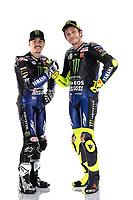 Maverick Vinales , Valentino Rossi<br /> 05/02/2020 Moto Gp 2020 <br /> Presentazione Yamaha Monster Energy 2020 YZR-M1 <br /> Photo Yamaha Motor Racing Srl / Insidefoto <br /> EDITORIAL USE ONLY