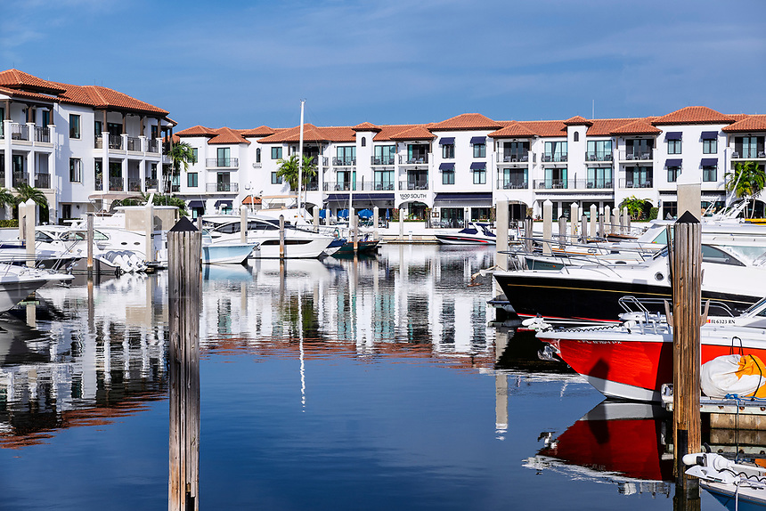 Naples Bay Resort and Marina.