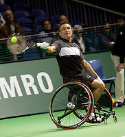 12-2-10, Rotterdam, Tennis, ABNAMROWTT, rolstoeltennis, Houdet,