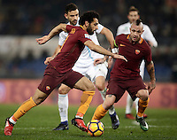 Calcio, Serie A: Roma vs ChievoVerona. Roma, stadio Olimpico, 22 settembre 2016.<br /> Roma's Mohamed Salah in action during the Italian Serie A football match between Roma and Chievo Verona, at Rome's Olympic stadium, 22 December 2016.<br /> UPDATE IMAGES PRESS/Isabella Bonotto