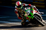 Nuno Caetano races the Macau Motorcycle Grand Prix during the 61st Macau Grand Prix on November 15, 2014 at Macau street circuit in Macau, China. Photo by Aitor Alcalde / Power Sport Images