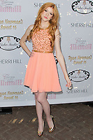 HOLLYWOOD, LOS ANGELES, CA, USA - APRIL 27: Katherine McNamara at Ryan Newman's 'Glitz and Glam' Sweet 16 Birthday Party held at Emerson Theatre on April 27, 2014 in Hollywood, Los Angeles, California, United States. (Photo by Xavier Collin/Celebrity Monitor)