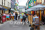 Outside dining on Plunkett Street, Killarney on Saturday evening
