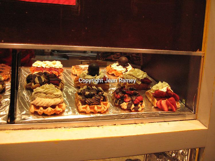 Belgian Waffle stand - Brussels, Belgium