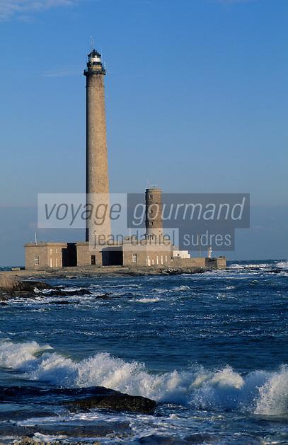 Europe/France/Normandie/Basse-Normandie/50/Manche/Env de Barfleur: Le phare de Gatteville