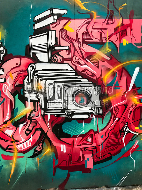 Europe/Ile de France/Paris 75011/ Street Art Rue de la Fontaine au Roi //  Europe / Ile de France / Paris 75011 / Street Art Rue de la Fontaine au Roi