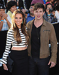 Matt Lanter and wife attends The L.A. Premiere of DIVERGENT held at The Regency Bruin Theatre in West Hollywood, California on March 18,2014                                                                               © 2014 Hollywood Press Agency