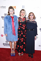 """Hermione Corfield, Alice Eve and Josephine De La Baume<br /> arriving for the World premiere of """"Bees Make Honey"""" at the Vue West End, Leicester Square, London<br /> <br /> <br /> ©Ash Knotek  D3314  23/09/2017"""