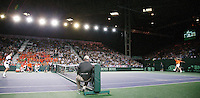8-4-07, England, Birmingham, Tennis, Daviscup England-Netherlands, Igor Sijsling versus  Tim Henman