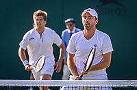 London, England, 3 July, 2019, Tennis,  Wimbledon, Men's doubles Sander Arends (NED) and Matwe Middelkoop (NED) (R)<br /> Photo: Henk Koster/tennisimages.com