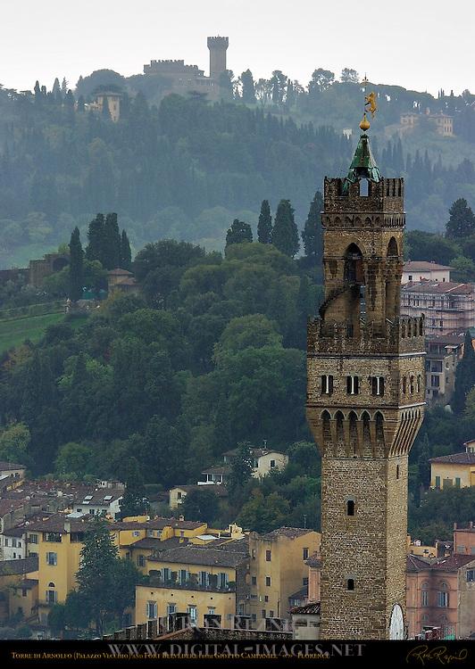 Torre di Arnolfo 1310 Palazzo Vecchio Tower Florence