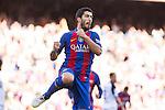 FC Barcelona's Luis Suarez during the La Liga match between Futbol Club Barcelona and Deportivo de la Coruna at Camp Nou Stadium Spain. October 15, 2016. (ALTERPHOTOS/Rodrigo Jimenez)