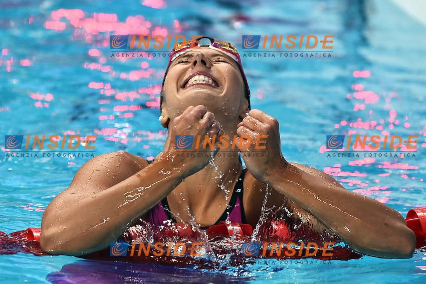 WENK Alexandra Nathalie GER Women's 100m Butterfly <br /> Day10 02/08/2015 Kazan Arena <br /> Swimming Nuoto <br /> XVI FINA World Championships Aquatics  <br /> Kazan Tatarstan RUS <br /> Photo Andrea Staccioli/Deepbluemedia/Insidefoto