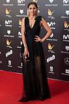 Mariam Hernandez attends red carpet of Feroz Awards 2018 at Magarinos Complex in Madrid, Spain. January 22, 2018. (ALTERPHOTOS/Borja B.Hojas)