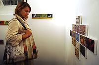 """Galleria 291 est, nello storico quartiere di San Lorenzo, Roma..""""Quadrocartoline"""" mostra d'arte di Medile Siaulytyte,artista lituana. .Gallery 291 East, in the historical district of San Lorenzo, Rome..""""Quadrocartoline"""" art exhibition of Medile Siaulytyte, Lithuanian artist..."""