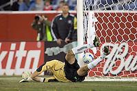 PK score on Matt Reis. NE Revolution defeat Colorado Rapids, 3-1, at Gillette Stadium on Sept. 30, 2006.