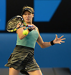 Eugenie Bouchard (CAN) defeats Casey Dellacqua (AUS), 6-7, 6-2, 6-0