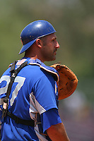 May 14 2009: Alex Garabedian of the Inland Empire 66'ers during game against the Stockton Ports at Arrowhead Credit Union Park in San Bernardino,CA.  Photo by Larry Goren/Four Seam Images