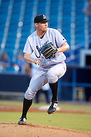 Jupiter Hammerheads Tyler Higgins #35 during a Florida State League game against the Tampa Yankees at Legends Field on July 17, 2012 in Tampa, Florida.  Tampa defeated Jupiter 12-0.  (Mike Janes/Four Seam Images)