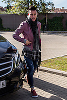 Spainsh Jose Callejon arriving at the concentration of the spanish national football team in the city of football of Las Rozas in Madrid, Spain. November 08, 2016. (ALTERPHOTOS/Rodrigo Jimenez) ///NORTEPHOTO.COM