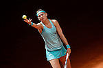 Lucie Safarova, Czech Republic, during Madrid Open Tennis 2015 match.May, 7, 2015.(ALTERPHOTOS/Acero)