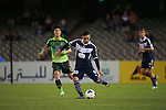 Melbourne Victory vs Jeonbuk Hyundai Motors during the 2014 AFC Champions League Group G match on March 12, 2014 at the Docklands Stadium in Melbourne, Australia. Photo by Mark Dadswell / World Sport Group