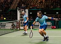 Rotterdam, The Netherlands, 14 Februari 2019, ABNAMRO World Tennis Tournament, Ahoy, Wesley Koolhof (NED) / Jurgen Melzer (AUT),<br /> Photo: www.tennisimages.com/Henk Koster