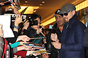 DiCaprio Arrives in Japan to promote The Wolf of Wall Street