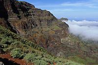 Berge beim Monte Espadana, Santo Antao, Kapverden, Afrika