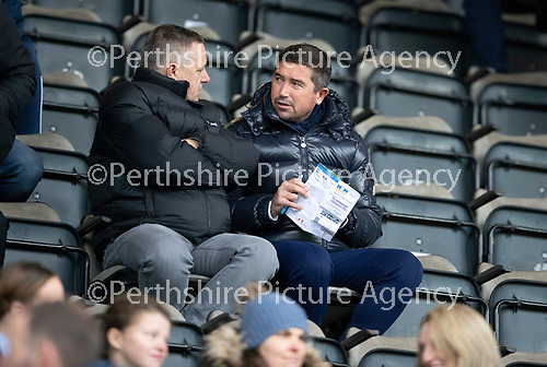 St Johnstone v Hibs…..09.11.19   McDiarmid Park   SPFL<br />