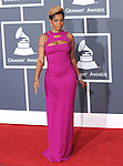 Mary J. Blige at The 52nd Annual GRAMMY Awards held at The Staples Center in Los Angeles, California on January 31,2010                                                                   Copyright 2009  DVS / RockinExposures