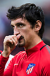 Stefan Savic of Atletico de Madrid of Atletico de Madrid warms up prior to the La Liga 2017-18 match between Atletico de Madrid and Girona FC at Wanda Metropolitano on 20 January 2018 in Madrid, Spain. Photo by Diego Gonzalez / Power Sport Images