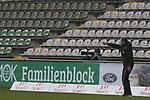 08.11.2020, Dietmar-Scholze-Stadion an der Lohmuehle, Luebeck, GER, 3. Liga, VfB Luebeck vs KFC Uerdingen 05 <br /> <br /> im Bild / picture shows <br /> Trainer Rolf Martin Landerl (VfB Luebeck) vor leerer Tribuene<br /> <br /> DFB REGULATIONS PROHIBIT ANY USE OF PHOTOGRAPHS AS IMAGE SEQUENCES AND/OR QUASI-VIDEO.<br /> <br /> Foto © nordphoto / Tauchnitz