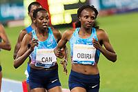 Hellen Obiri Kenia winner <br /> 5000m Women <br /> Roma 08-06-2017 Stadio Olimpico <br /> Iaaf Diamond League Golden Gala <br /> Meeting Atletica Leggera - Track and Fields <br /> Foto Andrea Staccioli / Insidefoto