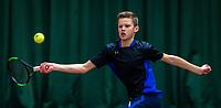 Wateringen, The Netherlands, December 4,  2019, De Rhijenhof , NOJK 14 and18 years, Sander Paradis (NED)<br /> Photo: www.tennisimages.com/Henk Koster