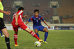 Laos vs Cambodia during their AFF Suzuki Cup 2014 qualifier match at New Laos National Stadium on 12 October 2014, in Vientiane, Laos. Photo by Stringer / Lagardere Sports