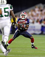 3 December 2009: Buffalo Bills' wide receiver Roscoe Parrish pulls in a punt during a game against the New York Jets at the Rogers Centre in Toronto, Ontario, Canada. The Bills fell to the Jets 19-13. Mandatory Credit: Ed Wolfstein Photo