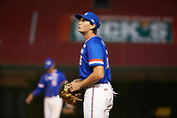 Triston Casas (26) of American Heritage High School in Pembroke Pines, Florida during the Under Armour All-American Game presented by Baseball Factory on July 29, 2017 at Wrigley Field in Chicago, Illinois.  (Jon Durr/Four Seam Images)