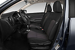 Front seat view of 2019 Nissan Versa-Sedan SV 4 Door Sedan Front Seat  car photos