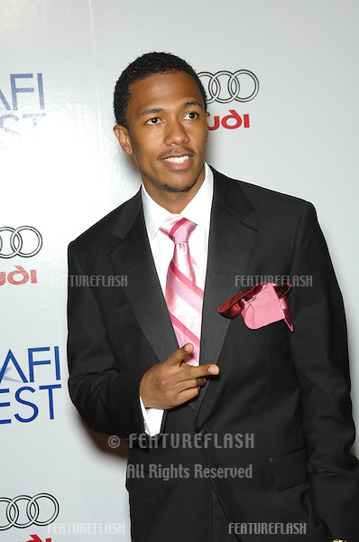 """NICK CANNON at the AFI Film Festival's opening night gala & US premiere of his new movie """"Bobby"""" at the Grauman's Chinese Theatre, Hollywood..November 1, 2006  Los Angeles, CA.Picture: Paul Smith / Featureflash"""